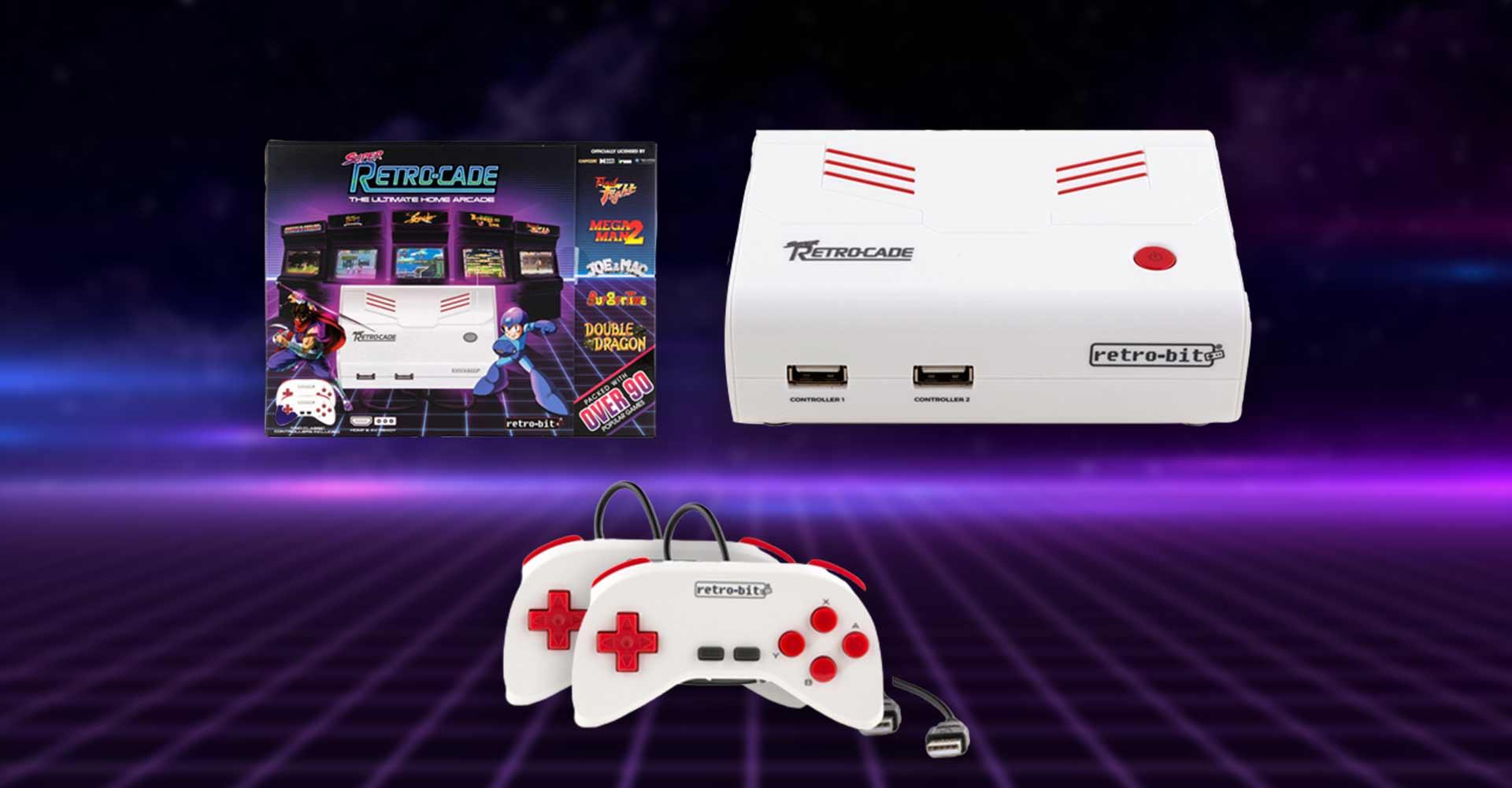 Retro- und Minikonsolen #7 Super Retro Cade: Über 90 Retro-Klassiker in einer Minikonsole