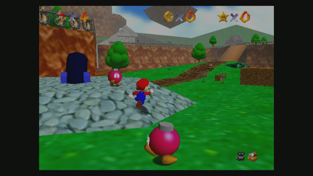 Super Mario 64: Pinke Bob-ombs helfen Mario gegen König Bob-omb