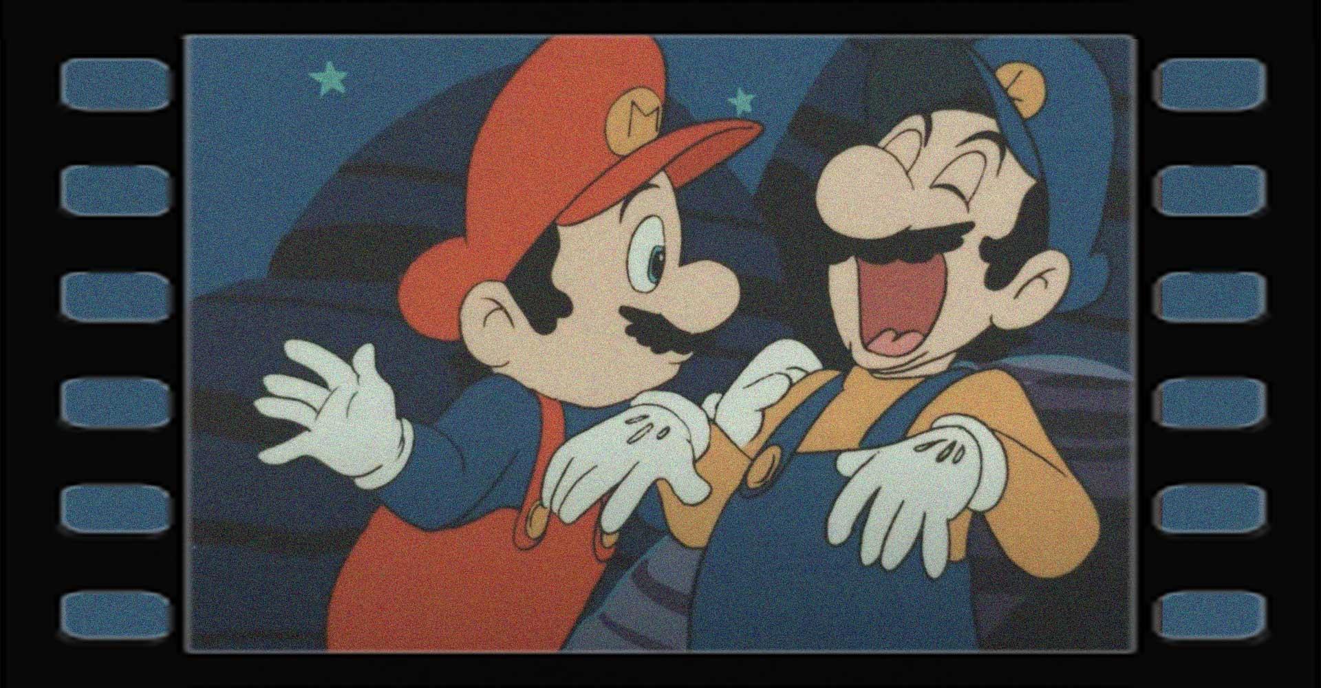 Super Mario Bros.-Zeichentrickfilm in 4K