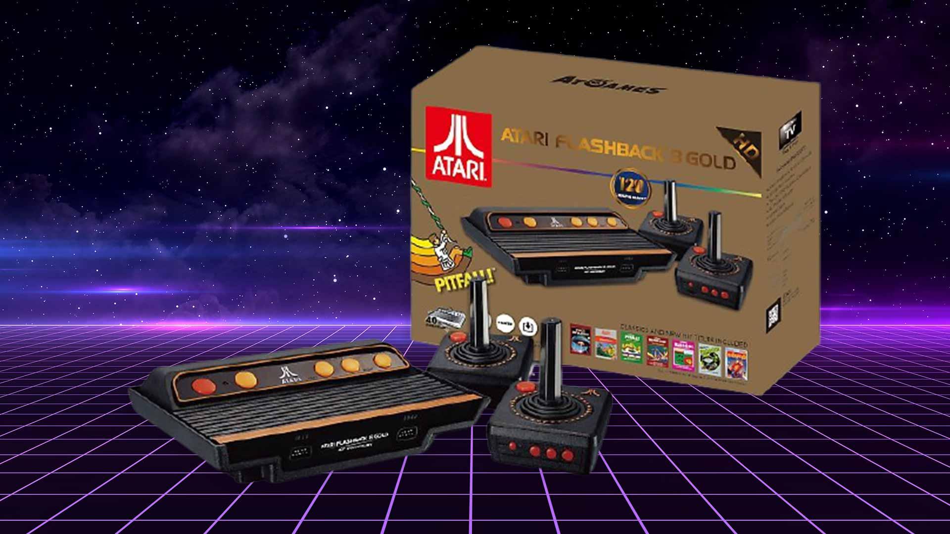 Retro- und Minikonsolen #10 Atari Flashback: Dem Original zum Verwechseln ähnlich