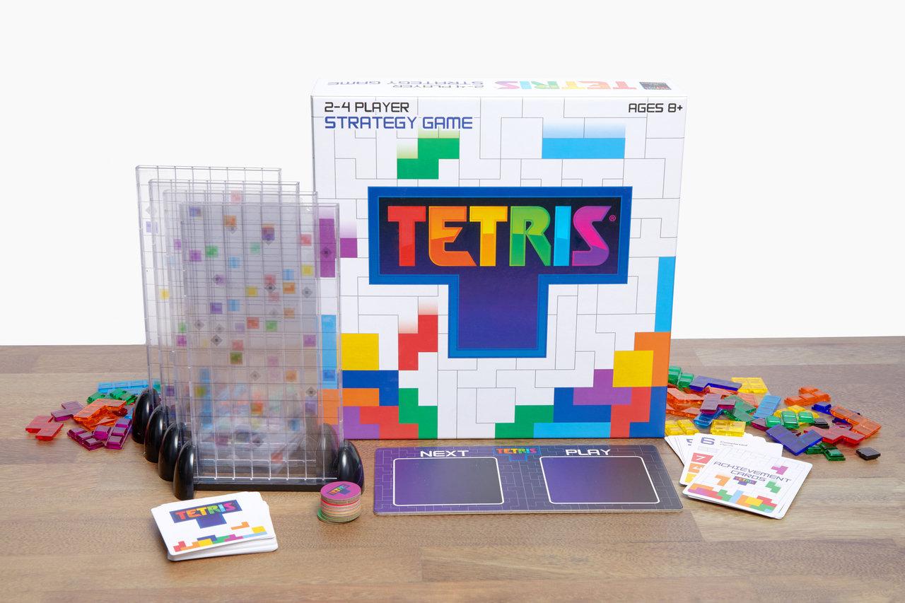 Analoges Brettspiel: Tetris mal anders