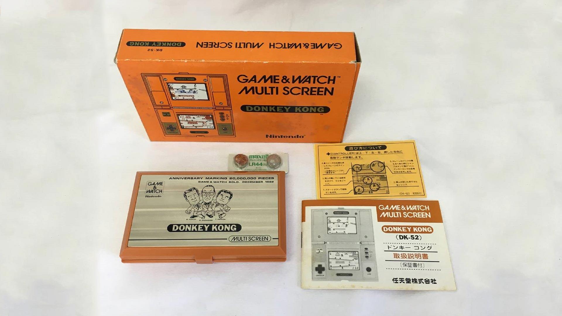 Sehr seltener Game & Watch zu einem niedrigen Preis verkauft