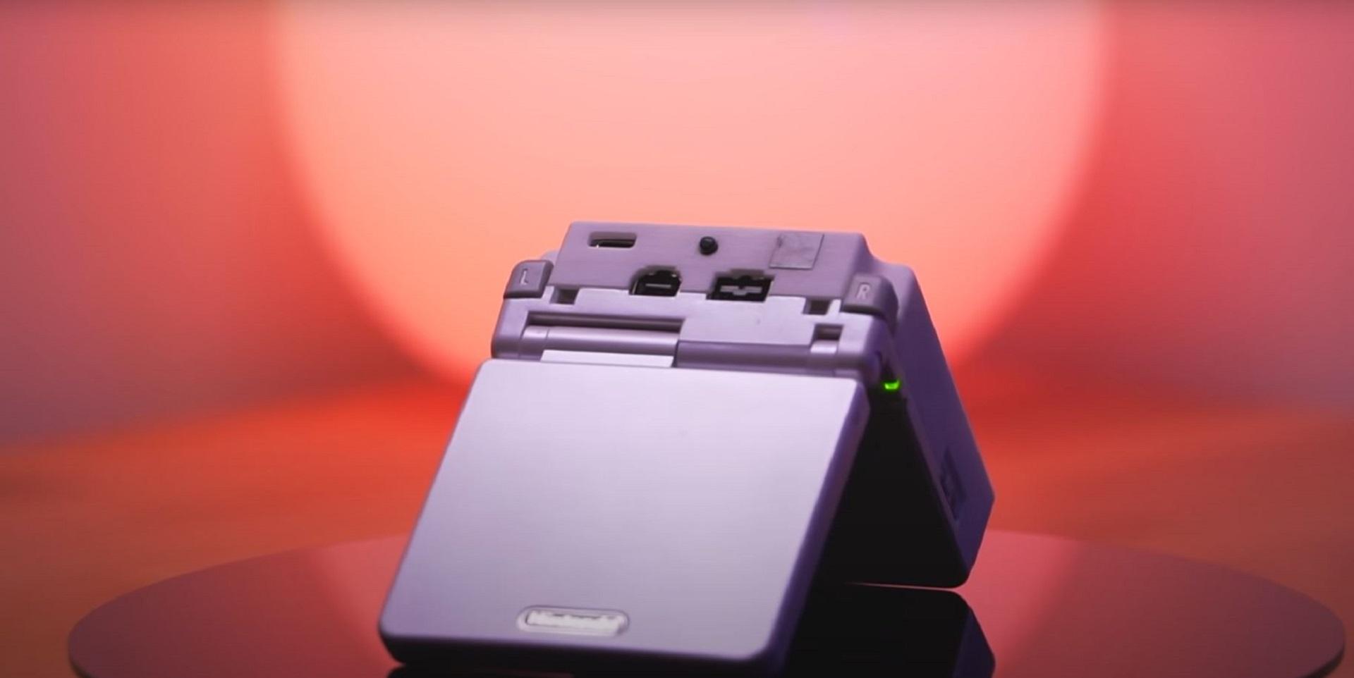 Gemoddeter Game Boy Advance bietet Annehmlichkeiten wie moderne Handhelden
