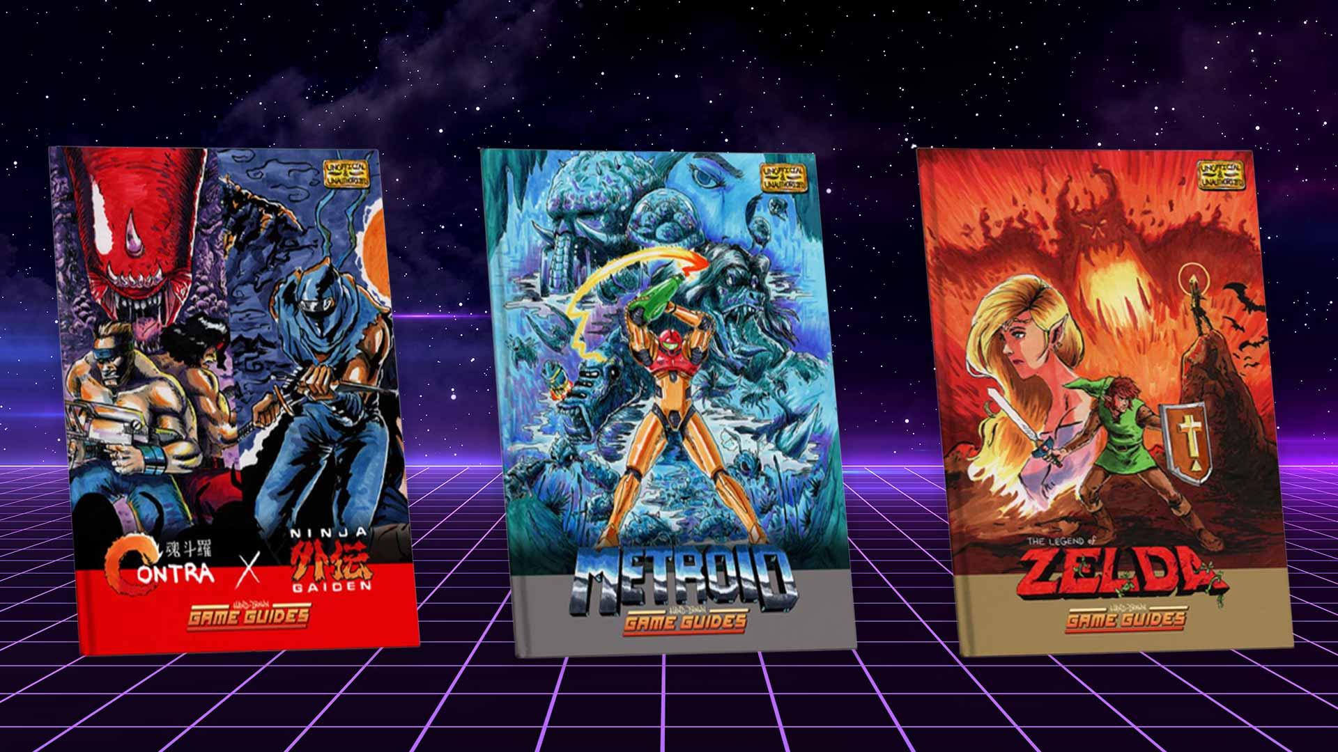 Zelda, Metroid und mehr: Kickstarter finanziert handgemalte Gaming-Guides