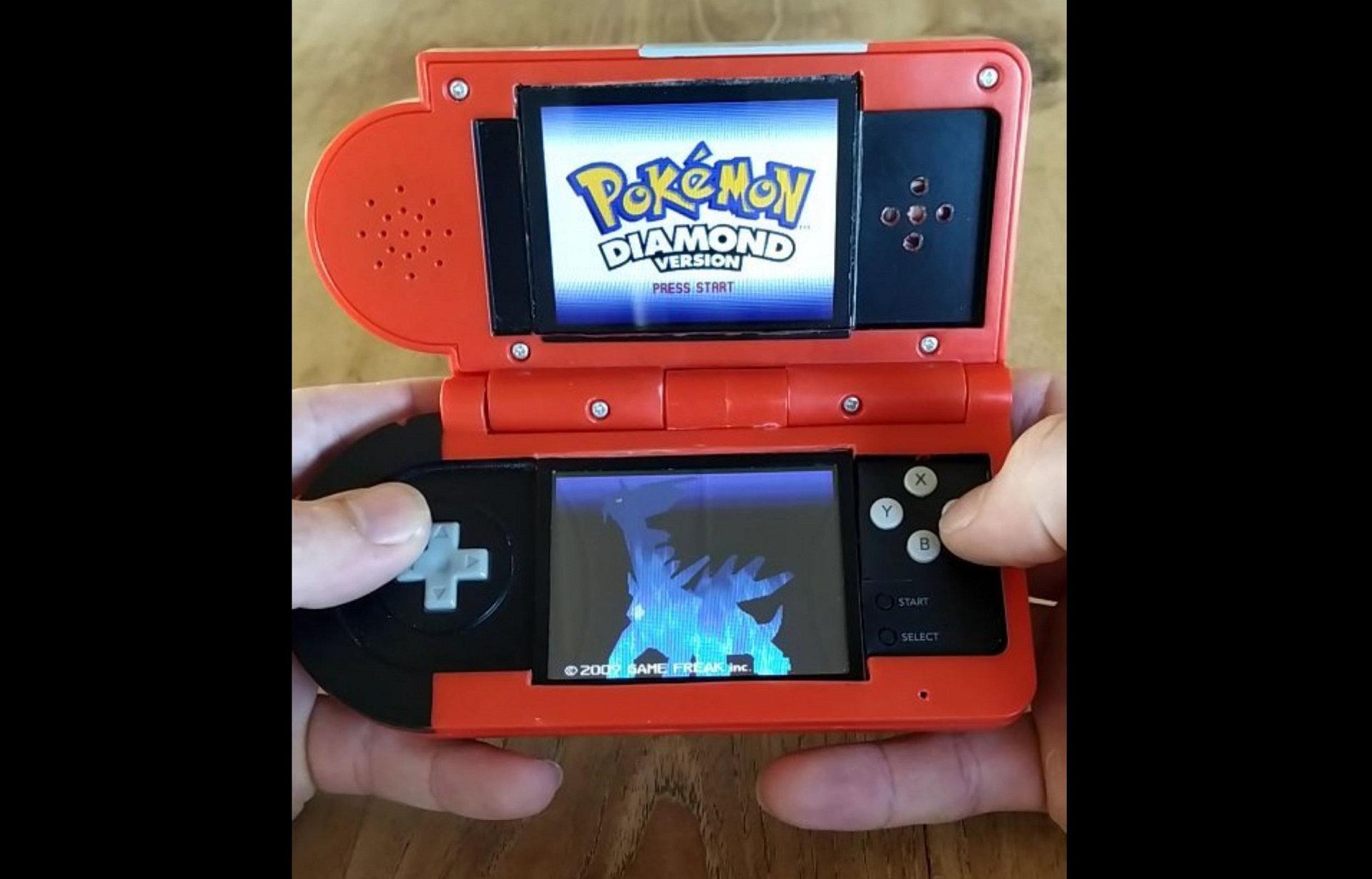 Spielzeug-Pokédex wird zu einem Nintendo DS