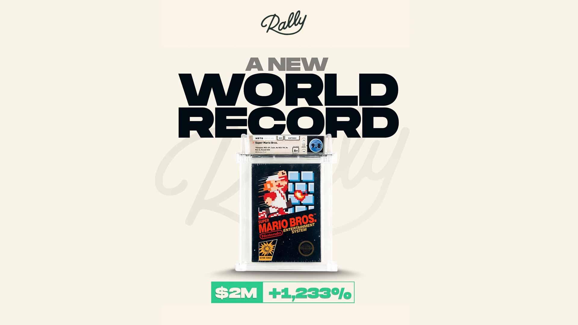 Super Mario Bros. bricht erneut den Rekord