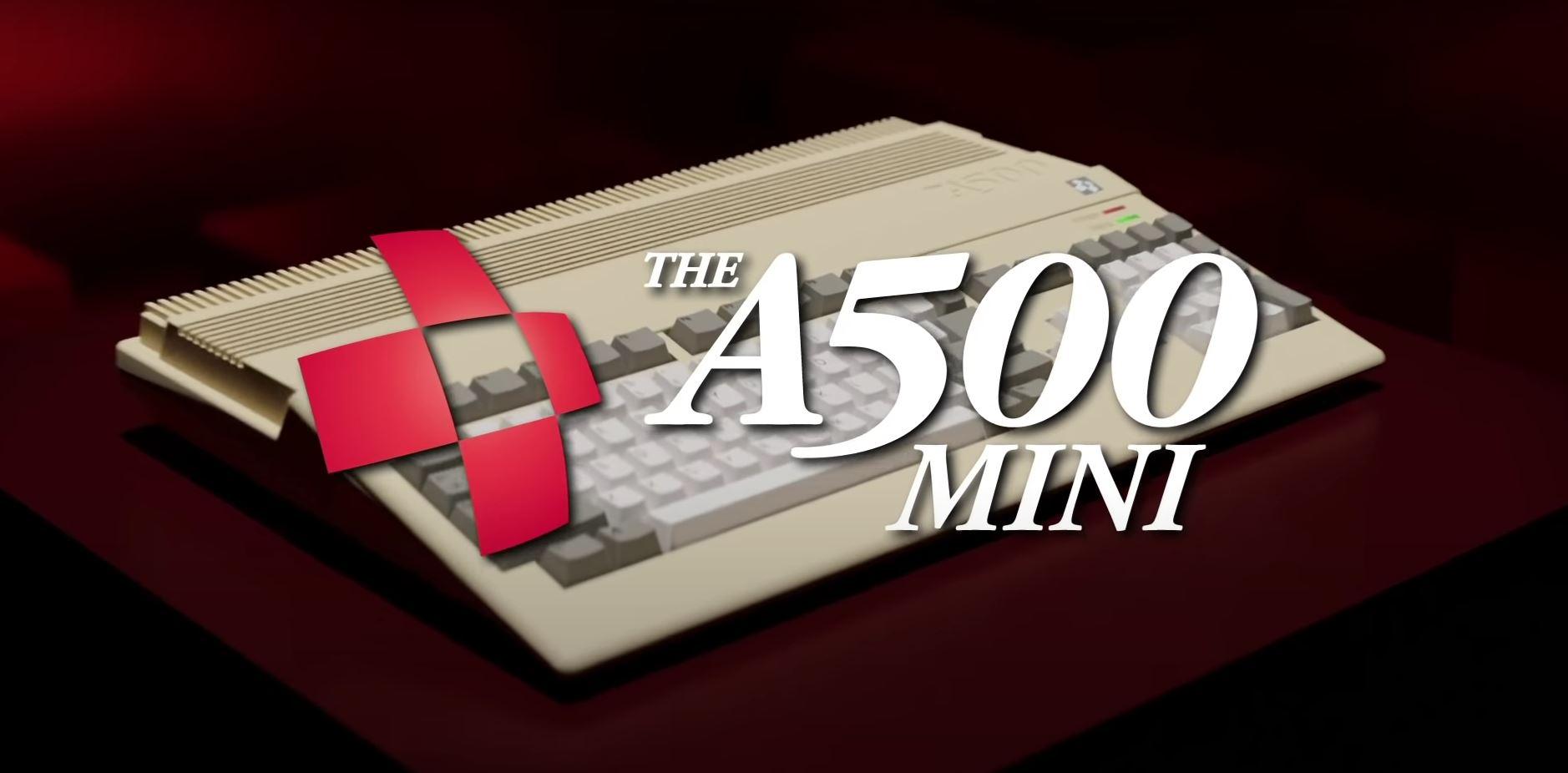 Amiga Reloaded — der A500 Mini kommt auf den Markt