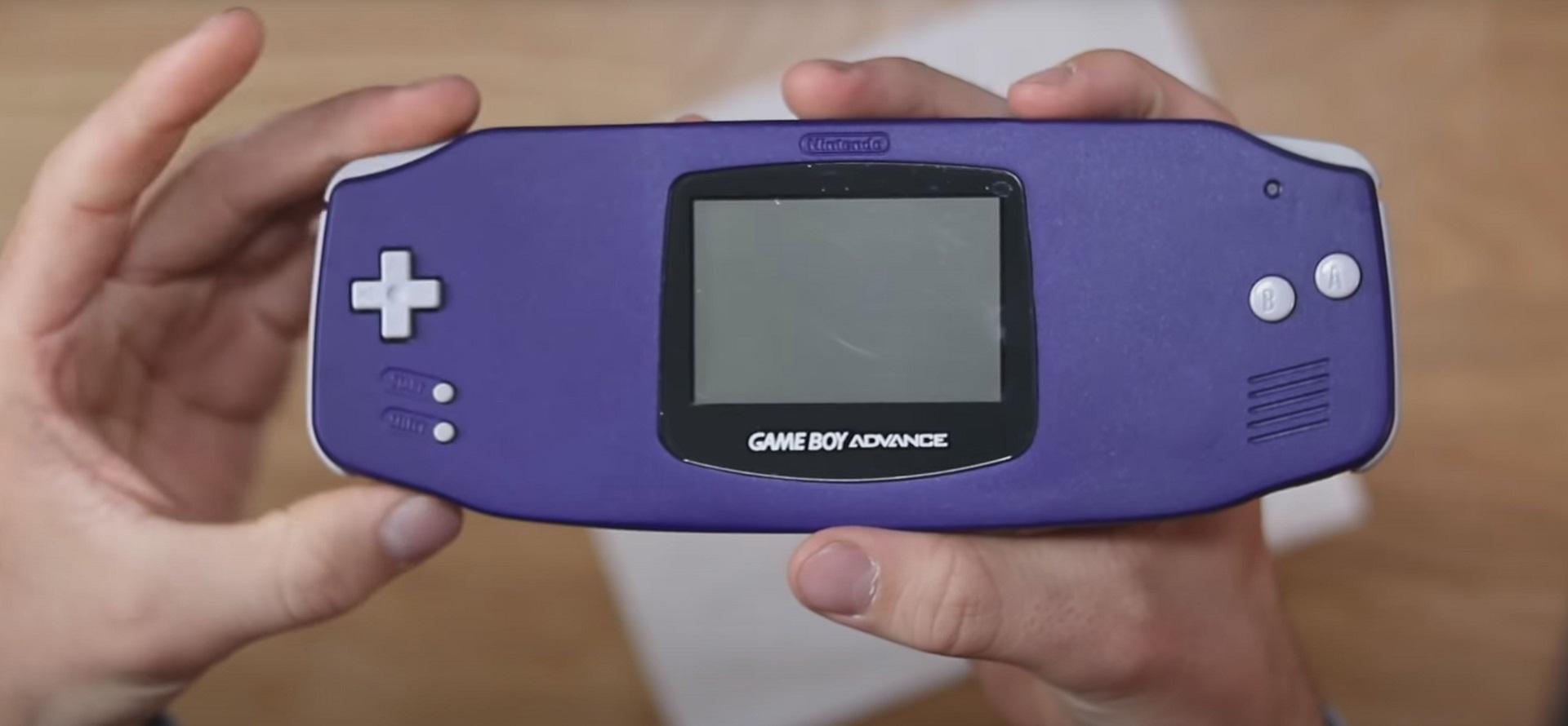 Verlängertes Gehäuse für den Game Boy Advance