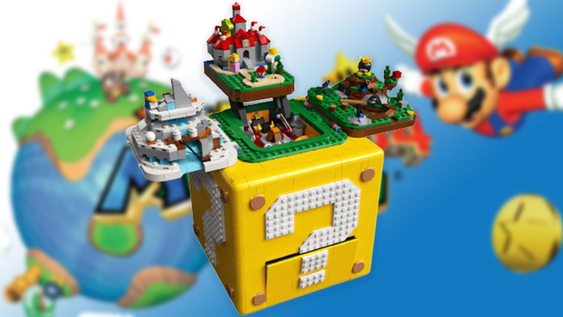 Super Mario 64: Lego bringt ein neues Set zum Spieleklassiker auf den Markt