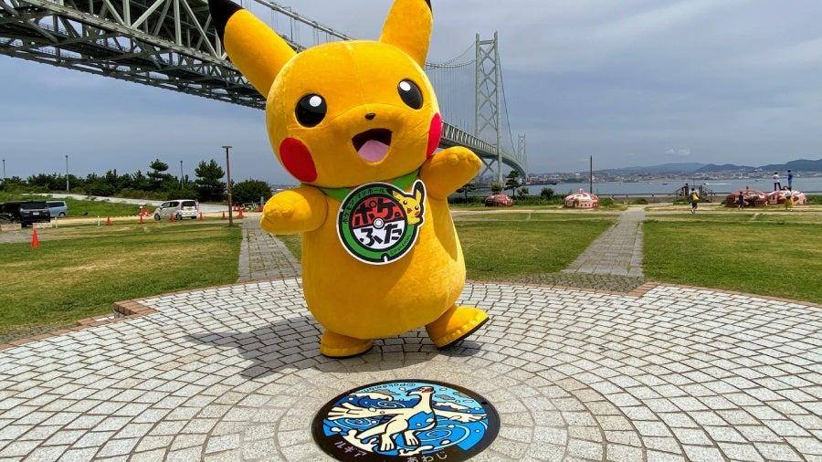 Japan: Pokémon-Kanaldeckel erreichen Meilenstein