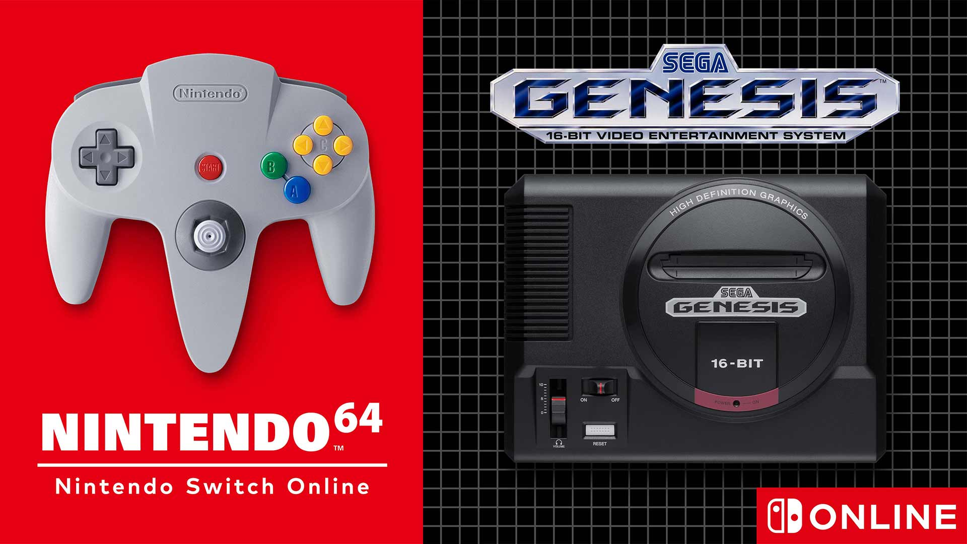 N64 und Sega Mega Drive für Virtual Console