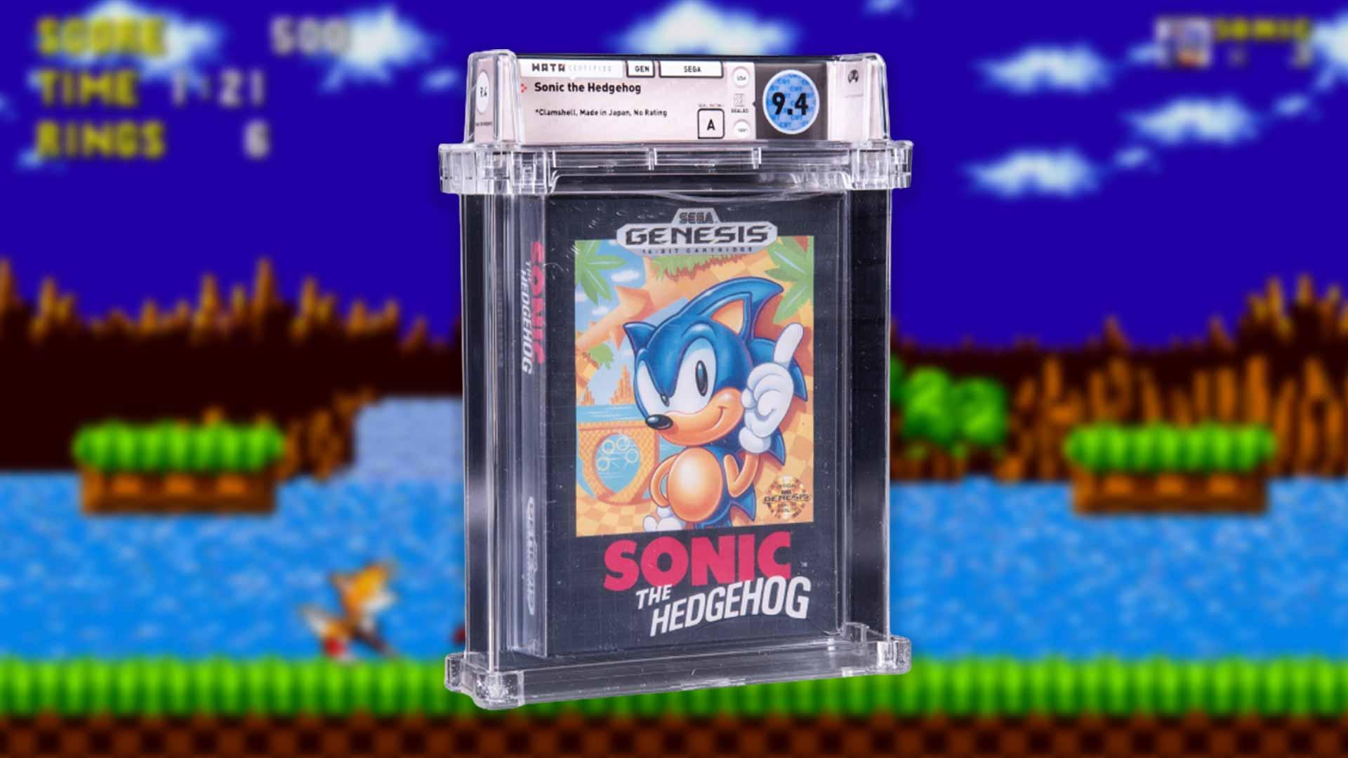 Sonic The Hedgehog: Versteigerung erzielt Rekordsumme