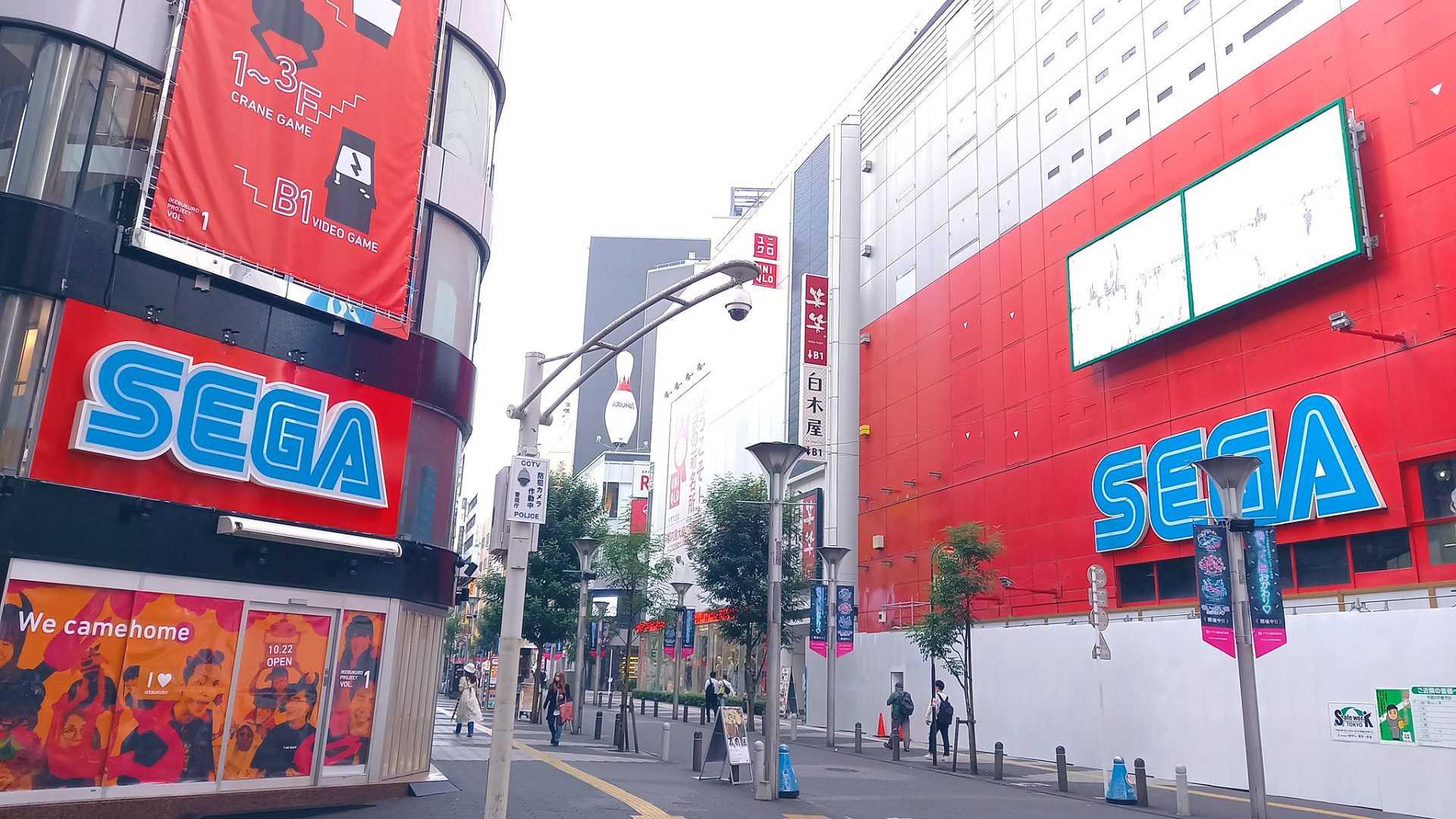 Sega Ikebukuro Gigo bekommt ein Extra-Life