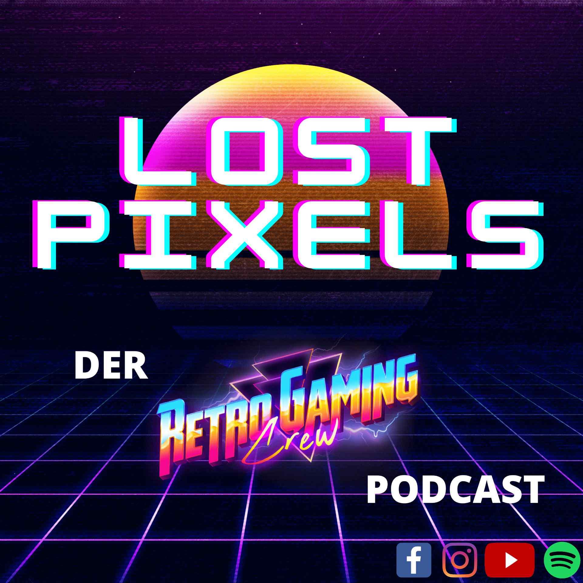 """Neuer Podcast: """"Lost Pixels"""" behandelt alles rund um Retro-Gaming"""