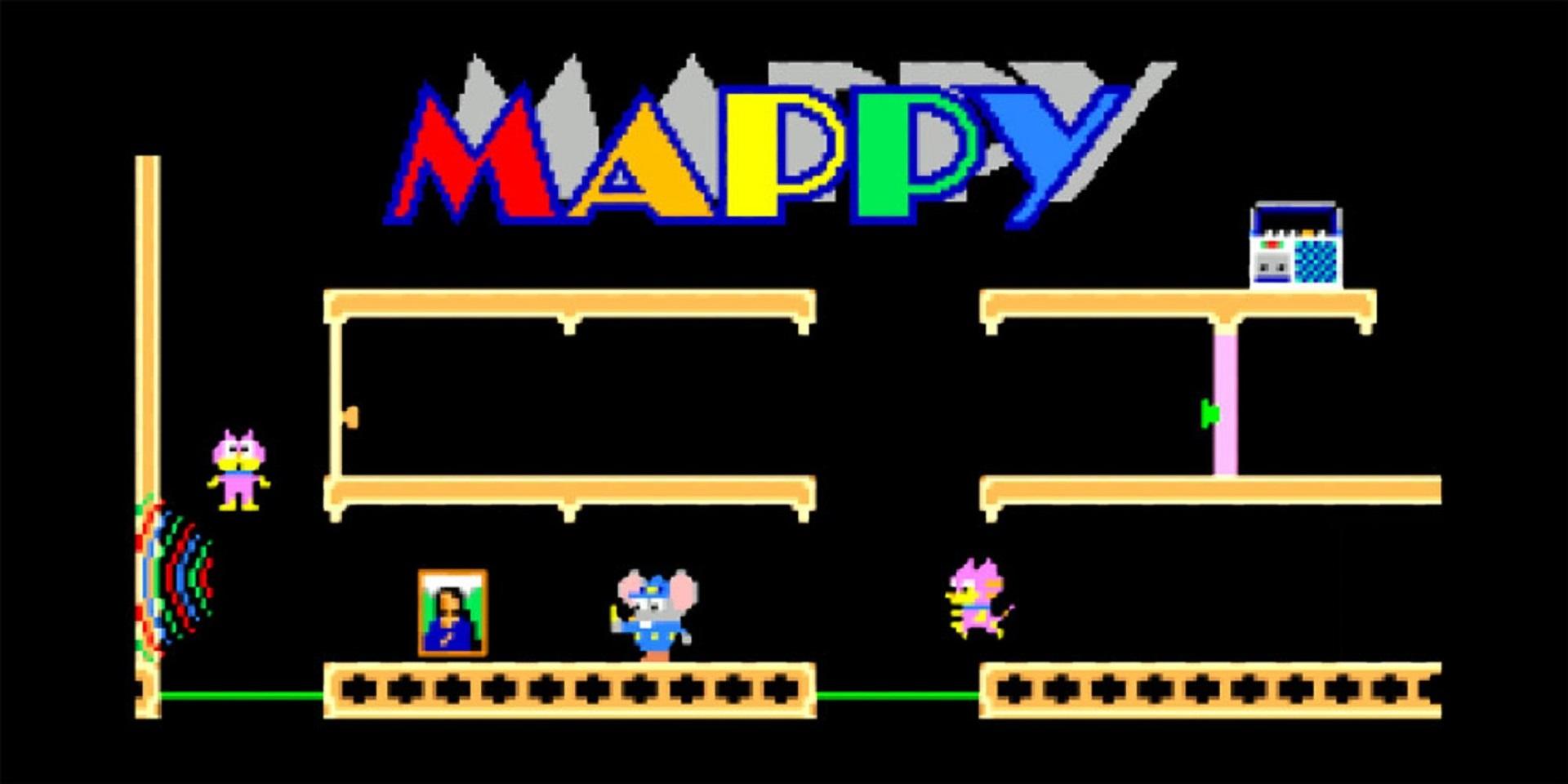 Namco-Klassiker Mappy neu im Hamster Arcade Archive