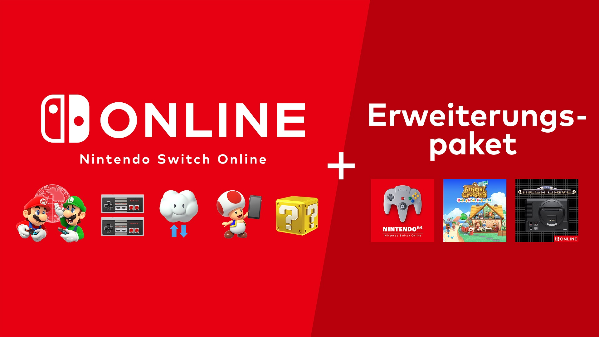 Nintendo Switch: Preise für N64 & Sega Mega Drive Online-Angebot bekanntgegeben