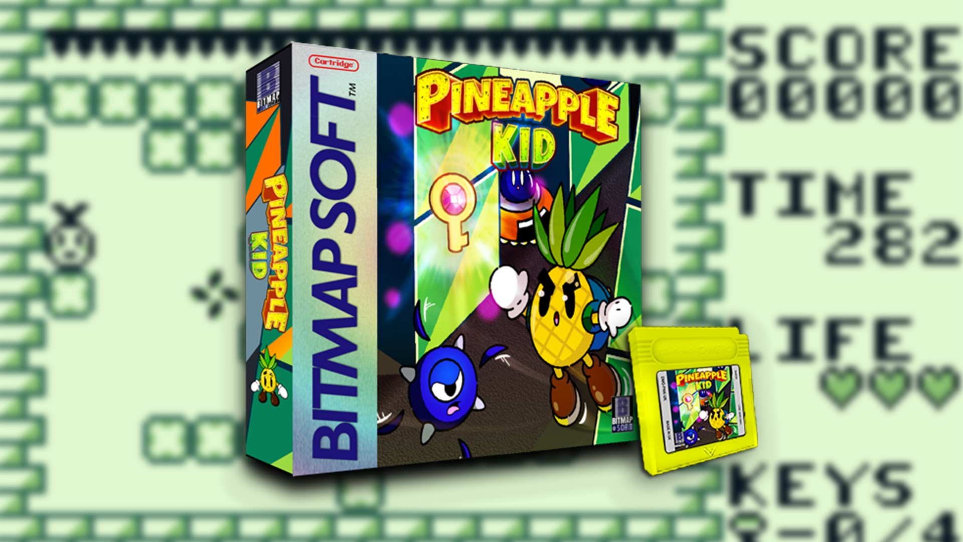 Pineapple Kid: Neues Spiel für alten Handheld