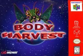 Body Harvest Cover