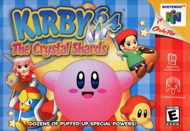 Kirby 64: The Crystal Shards Cover
