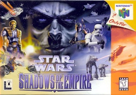 Star Wars: Shadows of the Empire Cover