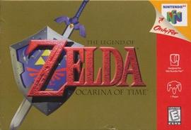 The Legend of Zelda: Ocarina of Time Cover