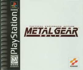 Metal Gear Solid Cover
