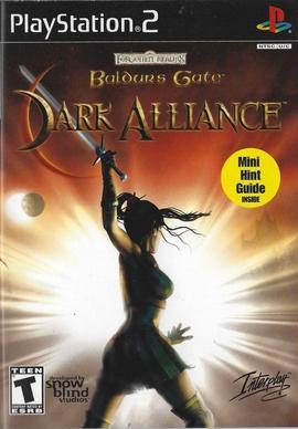 Baldur's Gate: Dark Alliance Cover