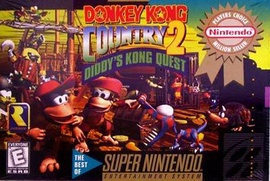 Donkey Kong Country 2: Diddy's Kong Quest Cover