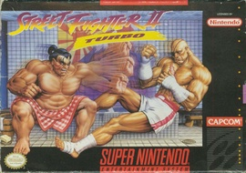 Street Fighter II Turbo Cover