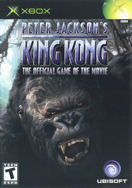 Peter Jackson's King Kong: The Official Game of the Movie Cover