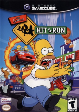 The Simpsons: Hit & Run Cover