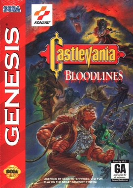 Castlevania: Bloodlines Cover