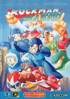 Mega Man: The Wily Wars Cover