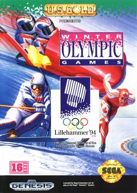 Winter Olympics: Lillehammer '94 Cover